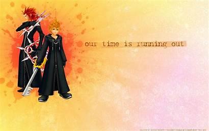 Hearts Kingdom Enix Square Running Axel Roxas