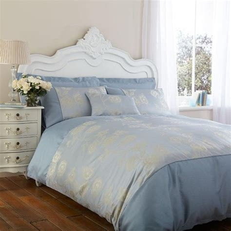 Charlotte Thomas Antonia Duvet Cover In Duck Egg Blue