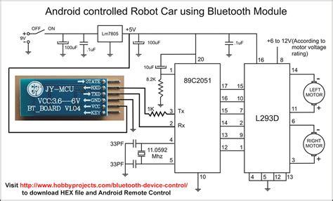 robotrobo car android bluetooth remote control project