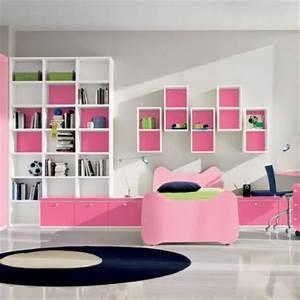 Décoration Murale Chambre Fille : photos d co chambre fille rose ~ Teatrodelosmanantiales.com Idées de Décoration