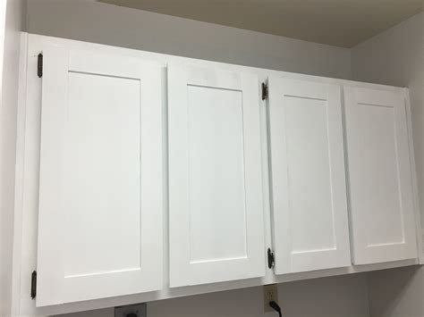 changing cabinet doors to shaker style prescott view home reno laundry room makeover classy