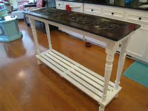 Kitchen Island Repurposed Piano