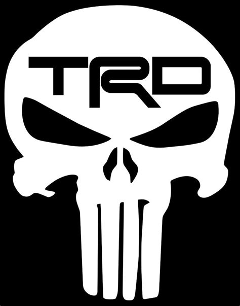 Trd Punisher Skull Decal Vinyl Sticker 4 Runner Tundra. Wrestling Stickers. Spotting Signs. Bharat Rawal Murals. Tyre Logo. Surf Decals. Washing Machine Stickers. Hydrated Signs Of Stroke. Propaganda Banners