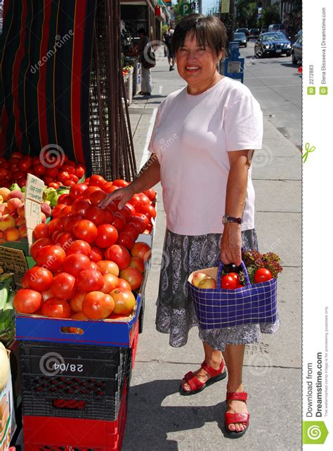 Buying vegetables stock image. Image of market, people ...
