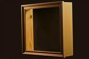 Cadre Photo Profond : cadre vitrine avec lampe ~ Teatrodelosmanantiales.com Idées de Décoration