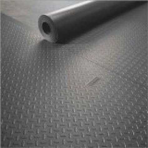 Diamond Tread PVC Rubber Flooring A   Rubber Flooring