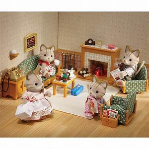 Sylvanian families country living room set toys r us for Living room furniture sets australia