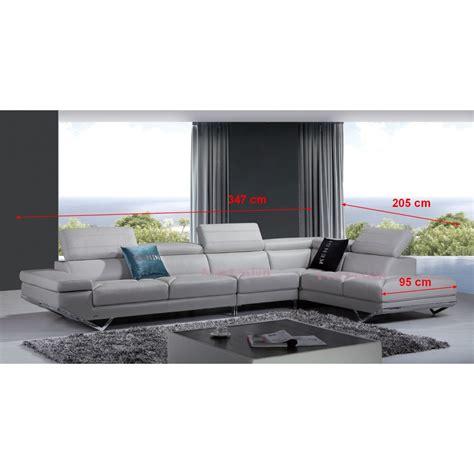 canapé cuir veritable canapé d 39 angle en cuir véritable siena pop design fr