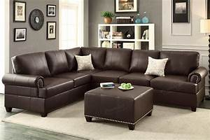 Brown leather sectional sofa steal a sofa furniture for Sectional sofa los angeles ca