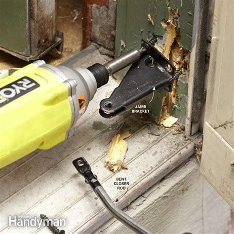 how to fix a screen door how to fix a screen door the family handyman
