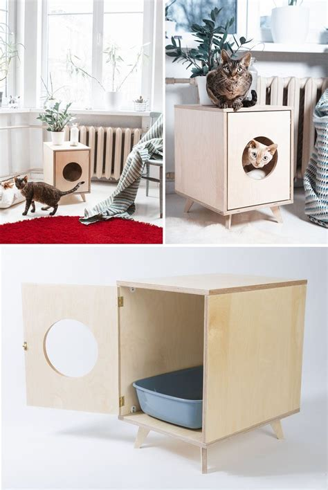 10 Ideas For Hiding Your Cat Litter Box Future Home