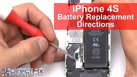how to replace iphone 4s battery iphone 4s battery replacement in 2 minutes