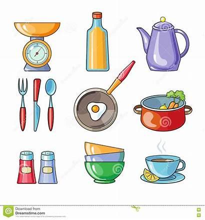 Tools Equipment Cooking Kitchen Clipart Cartoon Kitchenware