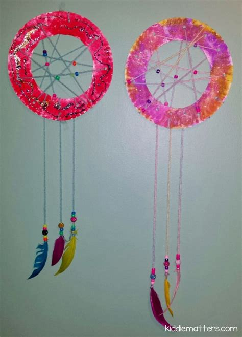 Easy Diy Kid's Dream Catcher  Easy Diy, Catcher And Children