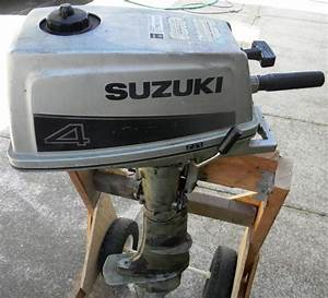 Purchase Suzuki Dt4 4 Hp Outboard Motor 4hp Motorcycle In