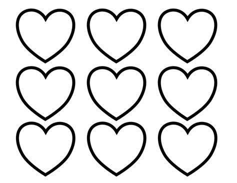 Valentine Heart Template Printable
