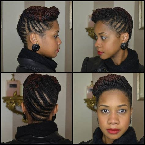 Two Strand Twist Updo Hairstyles by Two Strain Twist Updo Two Strand Twists Updos Braids