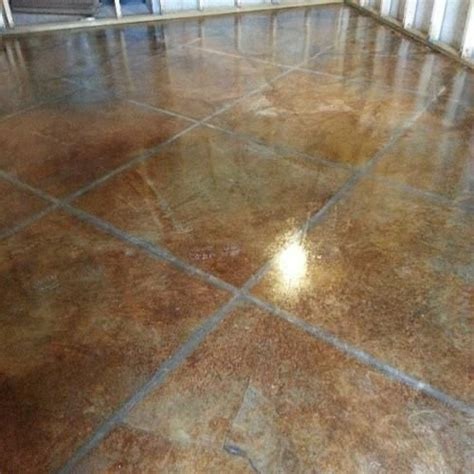 Zep Floor Finish For Stained Concrete by 25 Best Images About Concrete Acid Stain On