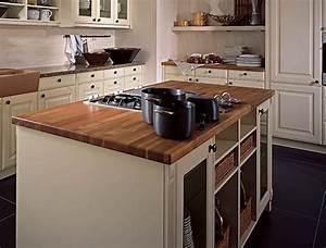 Buffet Cuisine Bois : exemple buffet de cuisine en bois blanc ~ Edinachiropracticcenter.com Idées de Décoration