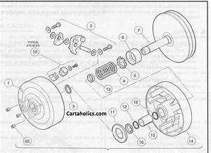 Club Car Drive Clutch Diagram