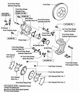 I Am Trying To Find The Name Of The Part In Which The Caliper Mounts To  The Parts Store I Have