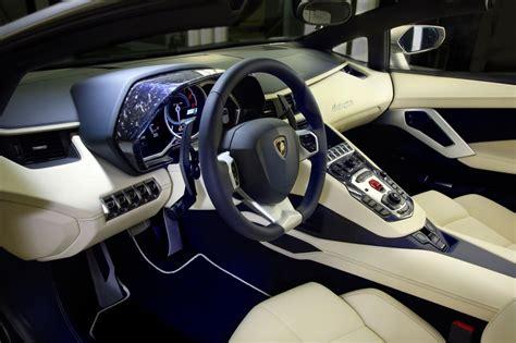 Lamborghini Aventador Ad Personam-interior
