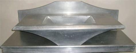 evier cuisine en création de mobiliers en zinc salle de bain évier lavabo