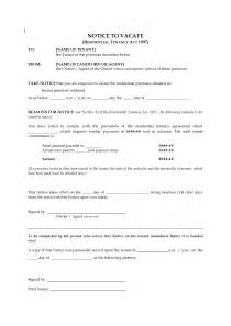Printable Blank Eviction Notice Form