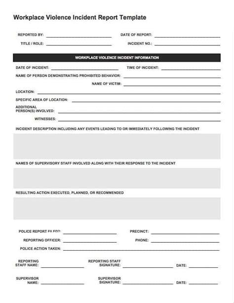 manual handling incident report form