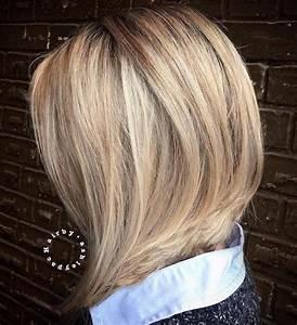 Carré Mi Long Plongeant : carr plongeant blond la t te la premi re obsigen ~ Dallasstarsshop.com Idées de Décoration