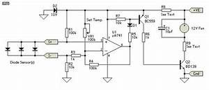 Schematic Diagram  Thermal Fan Controller