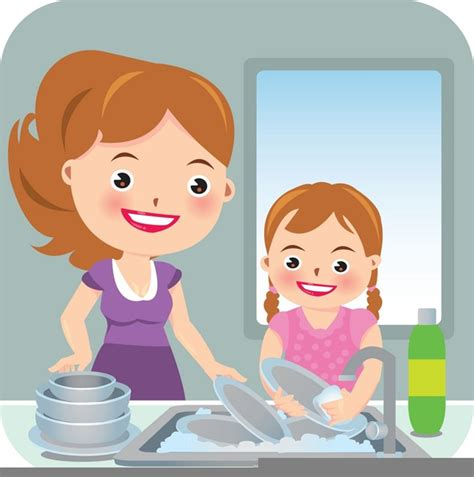 Washing Dishes Clipart Washing Dishes Clipart Free Images At Clker