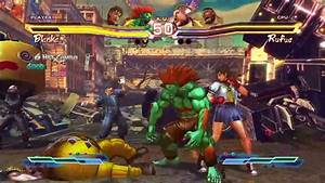 Street Fighter X Tekken Xbox 360 Review Any Game