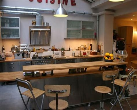 cuisine futur ilot central bar cuisine recherche future