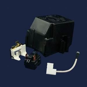Refrigerator Compressor Overload And Start Relay