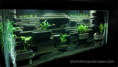 Dramatic Aquascapes by Dramatic Aquascapes Diy Aquarium Background Aaron