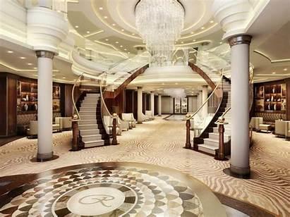 Cruise Ship Luxury Luxurious Inside Homes Seas