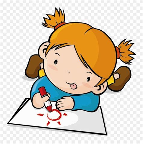 drawing clip children transprent cartoon