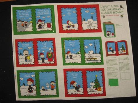 charlie brown snoopyi   dog  christmas soft book