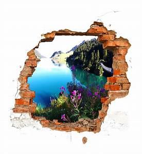 Trompe L Oeil Mur : com idea le trompe l il la v rit d une illusion ~ Dode.kayakingforconservation.com Idées de Décoration