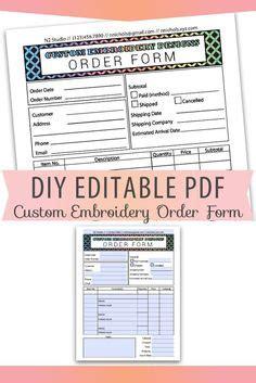 fundraiser order form fundraiser form ideas pinterest