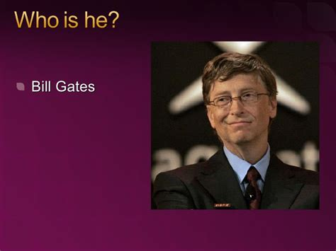 All about Bill Gates