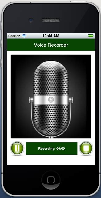 voice recorder iphone iphone voice recorder with timer pause
