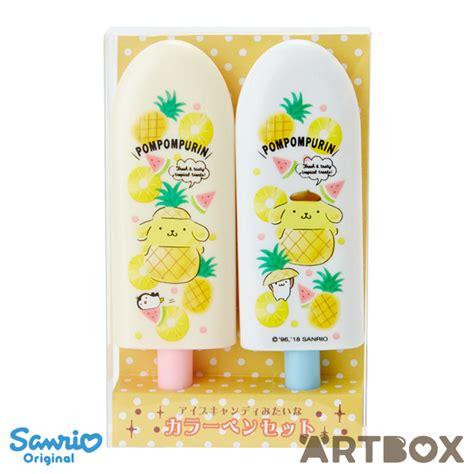 buy sanrio pompompurin fruit bar popsicle shaped  set