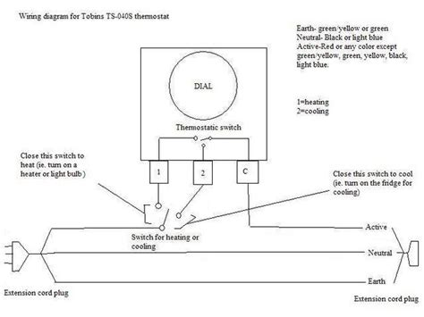 Freezer Thermostat Wire Diagram 4 by Heat Wiring An Spdt Thermostat To Simultaneously