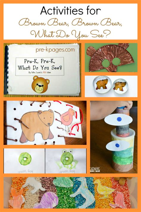 activities for brown brown what do you see 489 | brown bear brown bear activities for preschool
