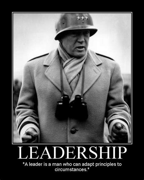 george  patton motivational posters leadership quote