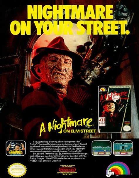 video games nightmare  elm street companion ultimate