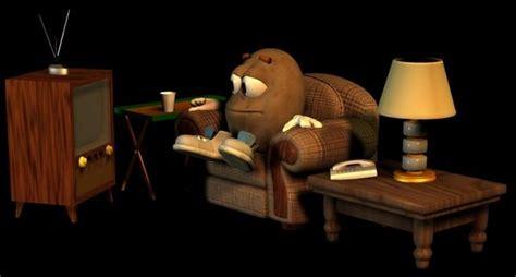Emotiguy Couch Potato  Poser Sharecg