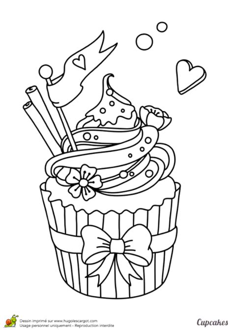 coloriage cupcake magique cupcake coloring pages